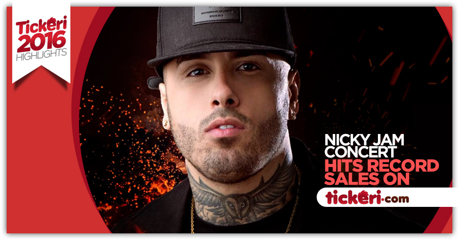 Nicky Jam hits record sales